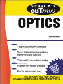 Schaum's Outline of Optics, Paperback Book