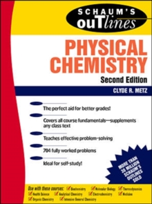 Schaum's Outline of Physical Chemistry, Paperback / softback Book