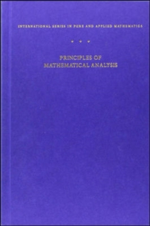Principles of Mathematical Analysis, Hardback Book