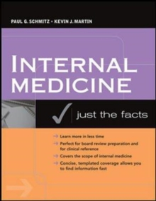 INTERNAL MEDICINEJUST THE FACTS,  Book