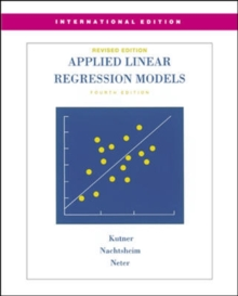 MP Applied Linear Regression Models-Revised Edition with Student CD (Int'l Ed), Book Book