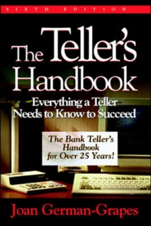 The Teller's Handbook: Everything a Teller Needs to Know to Succeed, EPUB eBook