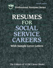 Resume for Social Service Careers, PDF eBook