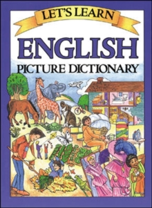Let's Learn American English Picture Dictionary, Trade Edition, Hardback Book