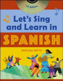 Let's Sing and Learn in Spanish  (Book + Audio CD), Book Book