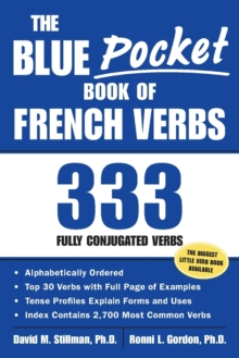 The Blue Pocket Book of French Verbs : 333 Fully Conjugated Verbs, Paperback Book
