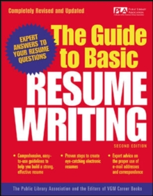 The Guide to Basic Resume Writing, PDF eBook