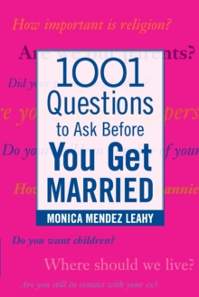 1001 Questions to Ask Before You Get Married, Paperback Book