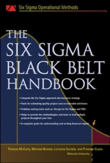 The Six Sigma Black Belt Handbook, Hardback Book