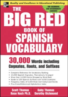 The Big Red Book of Spanish Vocabulary, Paperback / softback Book