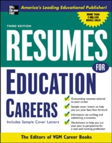Resumes for Education Careers, PDF eBook