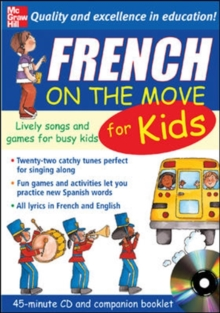 French On The Move For Kids (1CD + Guide), Audio tape Book