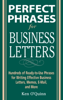 Perfect Phrases for Business Letters, Paperback / softback Book