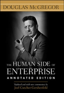 The Human Side of Enterprise, Hardback Book