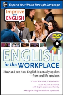 Improve Your English: English in the Workplace (DVD w/ Book), Book Book