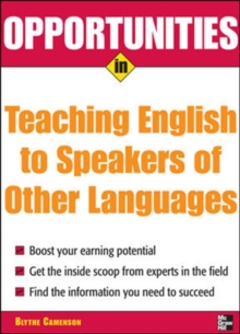 Opportunities in Teaching English to Speakers of Other Languages, PDF eBook