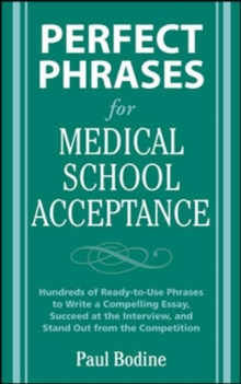 Perfect Phrases for Medical School Acceptance, EPUB eBook
