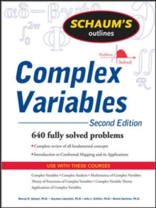 Schaum's Outline of Complex Variables, 2ed, Paperback Book