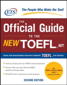 The Official Guide to the New TOEFL iBT, PDF eBook