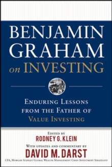 Benjamin Graham on Investing: Enduring Lessons from the Father of Value Investing, Hardback Book