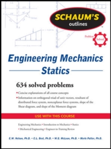 Schaum's Outline of Engineering Mechanics: Statics, Paperback / softback Book