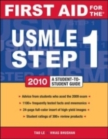 First Aid for the USMLE Step 1, 2010, EPUB eBook