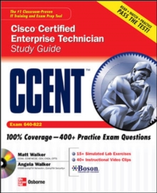 CCENT Cisco Certified Entry Networking Technician Study Guide (Exam 640-822), EPUB eBook