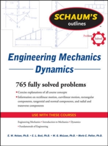 Schaum's Outline of Engineering Mechanics Dynamics, Paperback Book