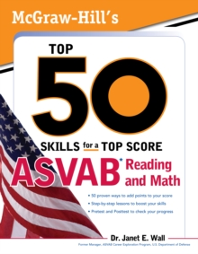 McGraw-Hill's Top 50 Skills For A Top Score: ASVAB Reading and Math : ASVAB Reading and Math with CD-ROM, EPUB eBook