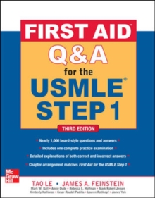 First Aid Q&A for the USMLE Step 1, Third Edition, Paperback Book