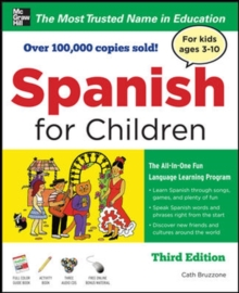 Spanish for Children with Three Audio CDs, Third Edition, Book Book