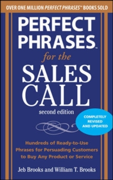 Perfect Phrases for the Sales Call, Paperback Book