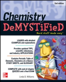 Chemistry DeMYSTiFieD, Second Edition, Paperback Book