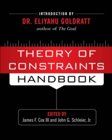 What is TOC? (Chapter 1 of Theory of Constraints Handbook), EPUB eBook