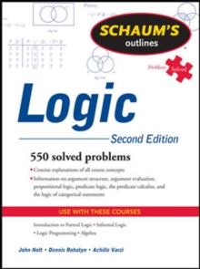 Schaum's Outline of Logic, Second Edition, Paperback Book