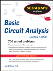 Schaum's Outline of Basic Circuit Analysis, Second Edition, Paperback / softback Book