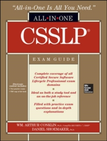 CSSLP Certification All-in-One Exam Guide, Book Book