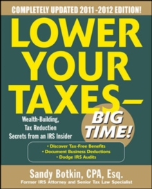 Lower Your Taxes - Big Time 2011-2012 4/E, EPUB eBook