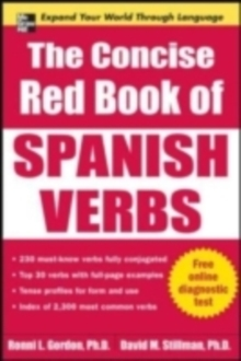 The Concise Red Book of Spanish Verbs, EPUB eBook