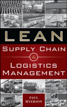 Lean Supply Chain and Logistics Management, Hardback Book