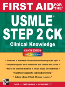First Aid for the USMLE Step 2 CK, Eighth Edition, EPUB eBook