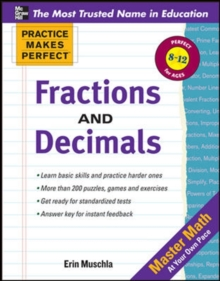 Practice Makes Perfect: Fractions, Decimals, and Percents, Paperback / softback Book