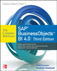 SAP BusinessObjects BI 4.0 The Complete Reference 3/E, Paperback / softback Book