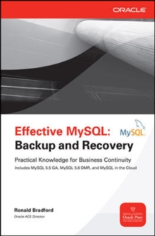 Effective MySQL Backup and Recovery, Paperback / softback Book