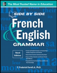 Side-By-Side French and English Grammar, Paperback / softback Book