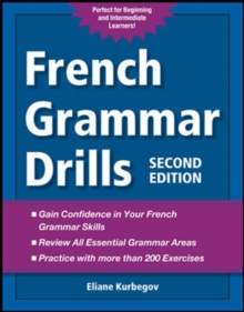 French Grammar Drills, Paperback Book