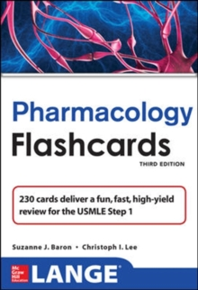 Lange Pharmacology Flash Cards, Third Edition, Paperback Book