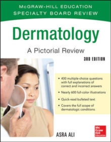 McGraw-Hill Specialty Board Review Dermatology A Pictorial Review 3/E, Paperback Book
