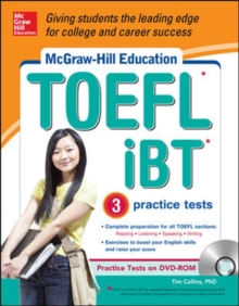 McGraw-Hill Education TOEFL iBT with 3 Practice Tests and DVD-ROM, Book Book