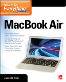 How to Do Everything MacBook Air, Paperback / softback Book